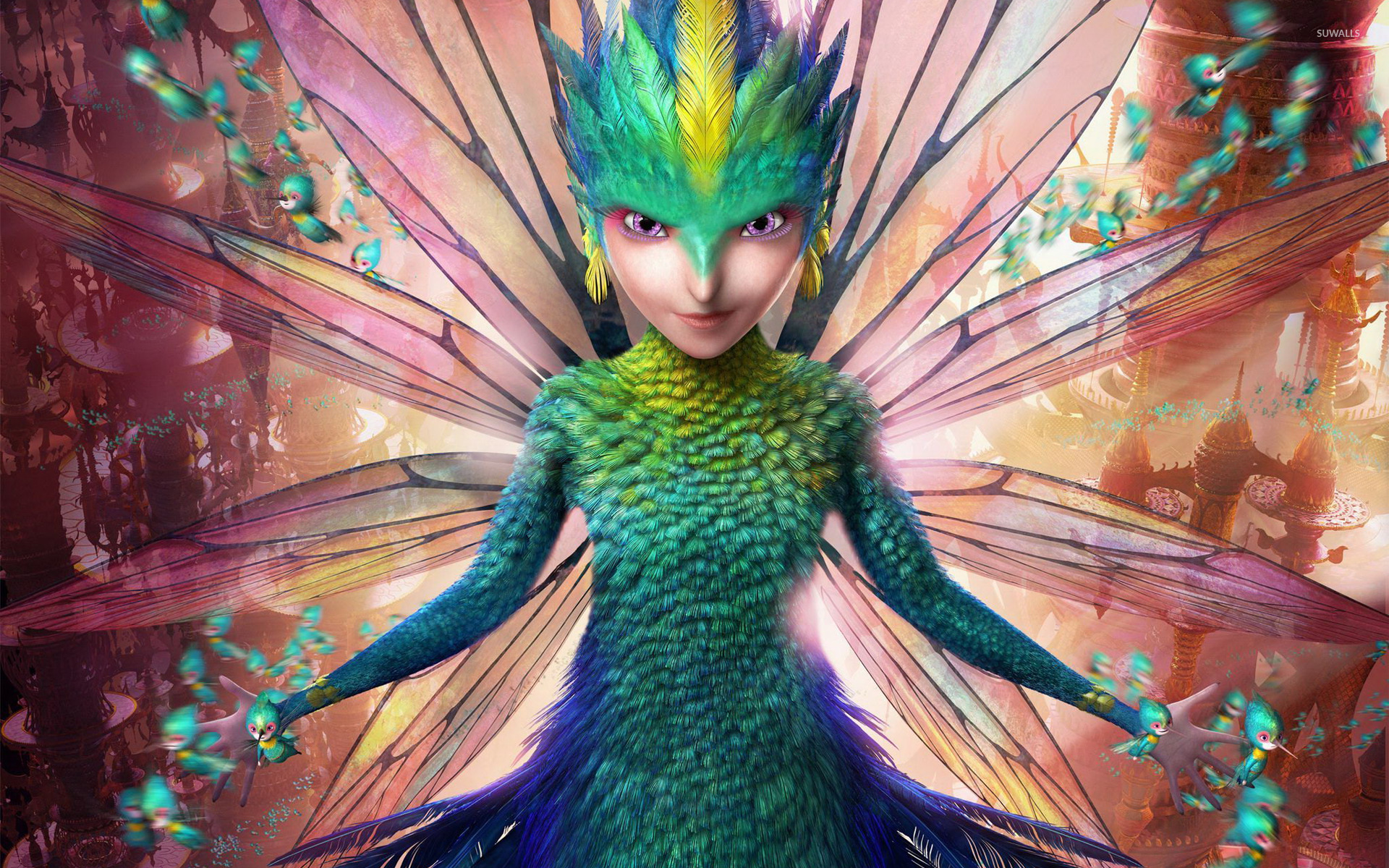 The Tooth Fairy Rise Of The Guardians Wallpaper Cartoon
