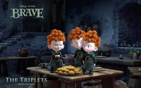 The Triplets -Brave wallpaper 1920x1200 jpg