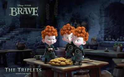 The Triplets -Brave wallpaper