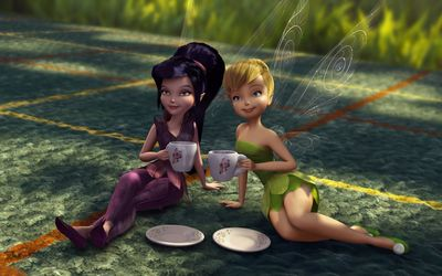 Tinker Bell And The Great Fairy Rescue [3] wallpaper