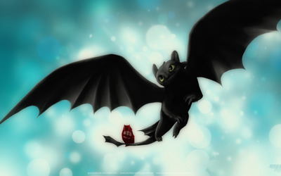 Toothless - How to Train Your Dragon wallpaper