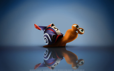 Turbo the snail wallpaper