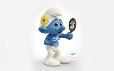 Vanity - The Smurfs 2 wallpaper