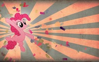 Vintage Pinkie Pie from My Little Pony wallpaper 1920x1080 jpg