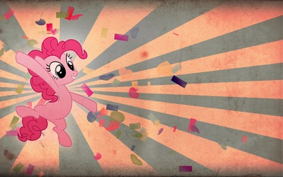 Vintage Pinkie Pie from My Little Pony wallpaper