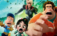 Wreck-It Ralph Poster [2] wallpaper 1920x1200 jpg