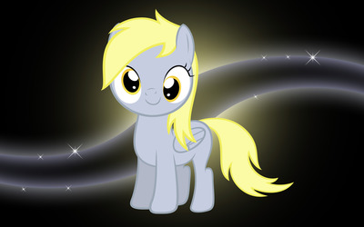 Young Derpy Hooves wallpaper