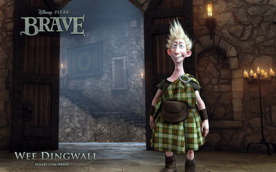 Young Dingwall - Brave wallpaper