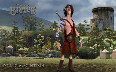 Young Macintosh - Brave wallpaper
