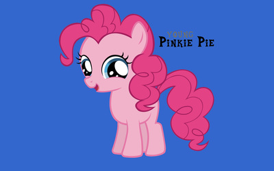 Young Pinkie Pie wallpaper