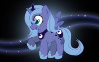 Young Princess Luna wallpaper 2560x1600 jpg