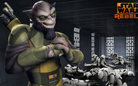 Zeb - Star Wars Rebels wallpaper 2560x1440 jpg