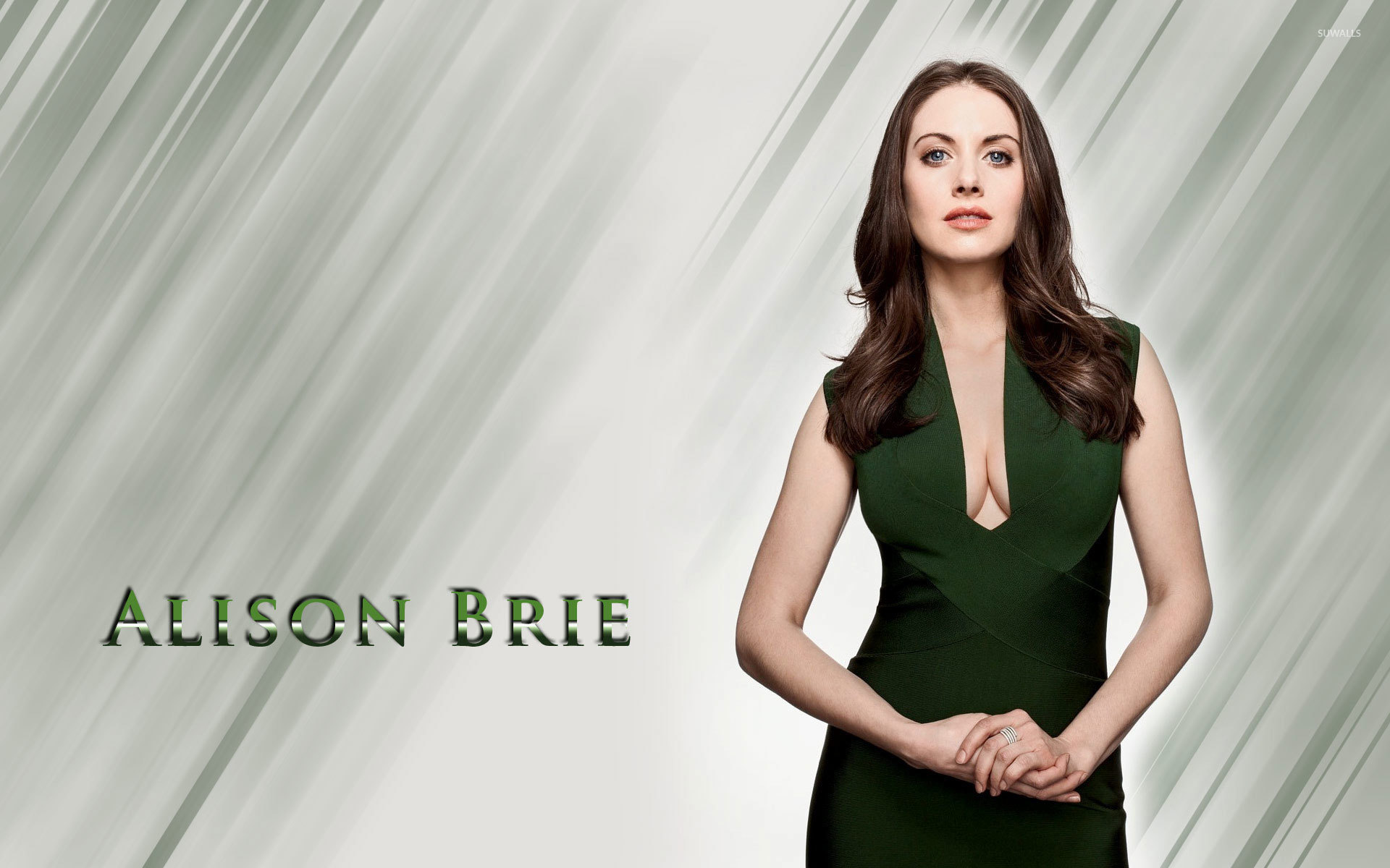 Alison Brie [2] wallpaper - Celebrity wallpapers - #18954
