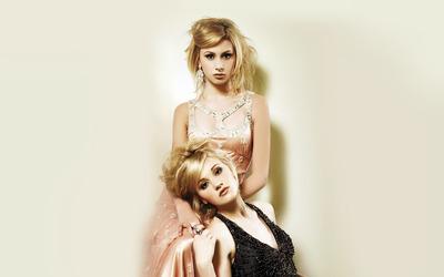 Alyson and Amanda Michalka [5] wallpaper