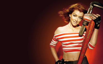 Alyson Hannigan [3] wallpaper