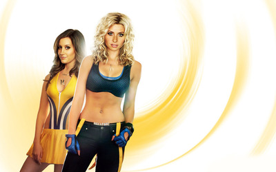 Alyson Michalka and Ashley Tisdale [2] wallpaper