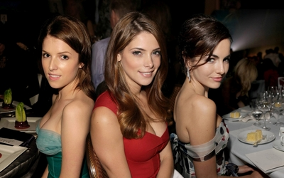 Anna Kendrick, Camilla Belle and Ashely Greene wallpaper