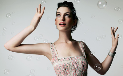 Anne Hathaway [13] wallpaper