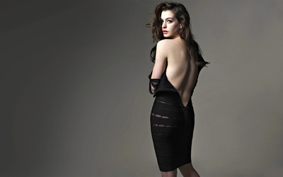 Anne Hathaway [4] wallpaper