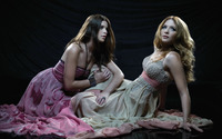 Ashley Greene and Rachelle Lefevre wallpaper 1920x1080 jpg
