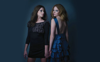 Ashley Greene and Rachelle Lefevre [2] wallpaper 2560x1600 jpg