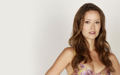 Beautiful Summer Glau with silk top wallpaper