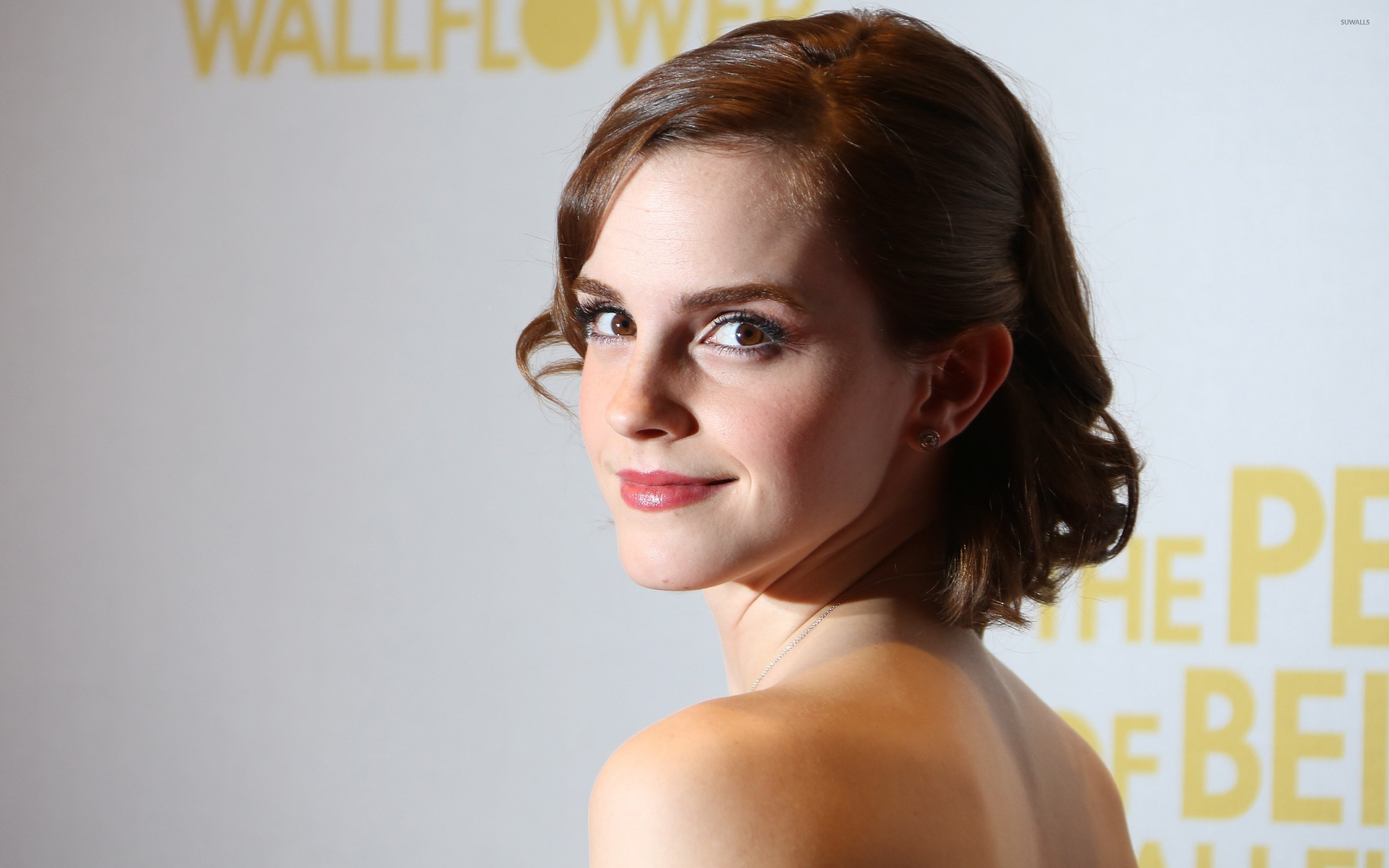 Emma Watson at a celebrity event wallpaper Celebrity wallpapers