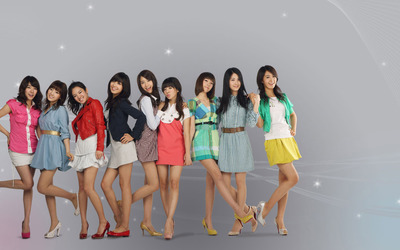 Girls' Generation members wallpaper