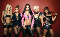 Gorgeous The Pussycat Dolls members wallpaper 2560x1600 jpg