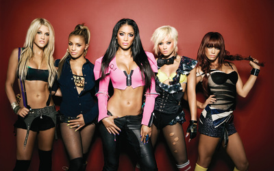 Gorgeous The Pussycat Dolls members wallpaper
