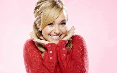 Happy Hayden Panettiere wallpaper