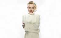 Hayden Panettiere in a white jacket wallpaper 1920x1200 jpg