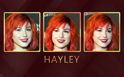 Hayley Williams [35] wallpaper