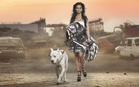 Inna walking the big dog wallpaper 1920x1080 jpg