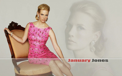 January Jones [7] wallpaper