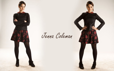 Jenna Coleman [9] wallpaper