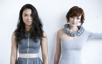 Jessica Sula and Dakota Blue Richards wallpaper 1920x1200 jpg