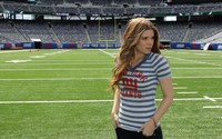 Kate Mara on a football field wallpaper 1920x1080 jpg