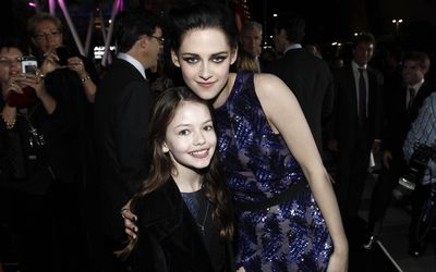 Kristen Stewart and Mackenzie Foy wallpaper