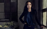 Kristin Kreuk in blue jeans wallpaper 1920x1080 jpg