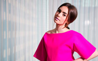 Lily Collins [6] wallpaper 2560x1440 jpg