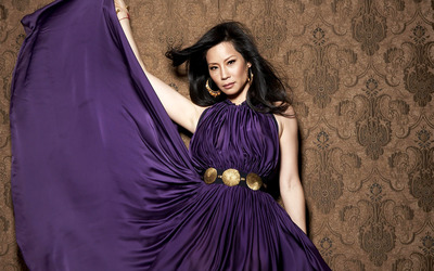 Lucy Liu [5] wallpaper