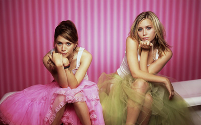 Mary-Kate und Ashley Olsen wallpaper