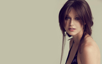 Melissa Benoist with a loose hairstyle wallpaper 2560x1600 jpg