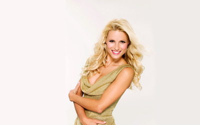 Michelle Hunziker [3] wallpaper