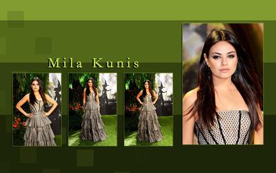 Mila Kunis [22] wallpaper