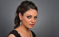 Mila Kunis with a black top wallpaper 1920x1080 jpg