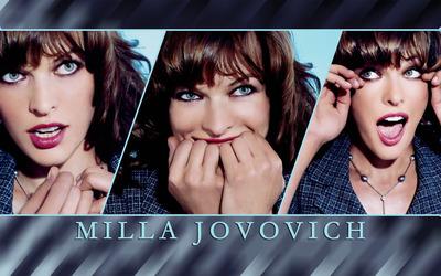 Milla Jovovich [15] wallpaper