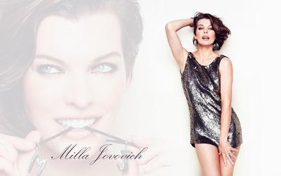 Milla Jovovich [14] Wallpaper