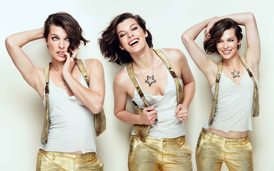 Milla Jovovich [13] wallpaper